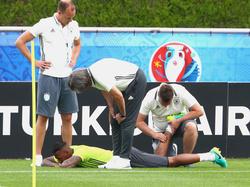 Jérôme Boateng spricht regelmäßig mit den DFB-Medizinern