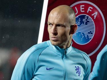 Arjen Robben war mit dem Auftritt der Elftal in Luxemburg nicht zufrieden