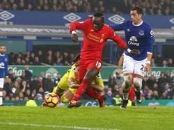 Sadio Mané sicherte Liverpool den Sieg im Derby