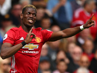 Paul Pogba con el United. (Foto: Getty)