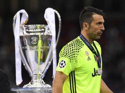 Buffon jugó probablemente su última final de Champions. (Foto: Getty)