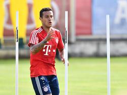 Thiago muss die Bayern-Reise vorzeitig abbrechen