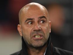 Peter Bosz konnte mit dem Auftritt seines BVB nicht zufrieden sein