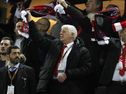 Werner Spinner wandte sich an die Fans des 1. FC Köln