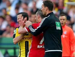 Ribéry kam nach seinem Augenstecher glimpflich davon