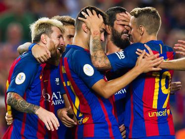 Der FC Barcelona darf sich über den ersten Titel der Saison freuen