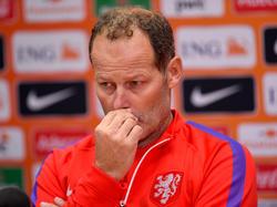 Danny Blind steht als Trainer der Niederlande unter Druck