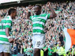 Moussa Dembélé traf dreimal für Celtic im Old Firm