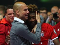David Alaba spielte bereits bei den Bayern unter Pep
