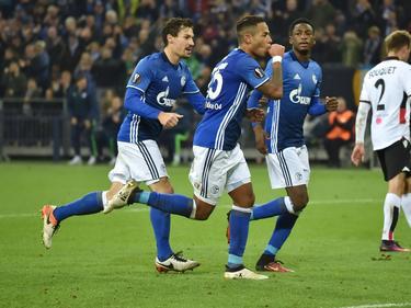Schalke 04 hat einen Dreier in der Europa League eingefahren