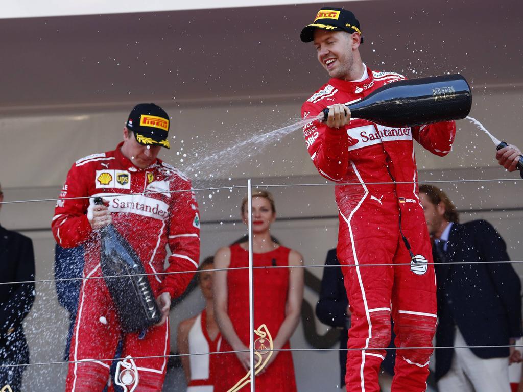 Rückblick: Ferrari ganz oben angekommen