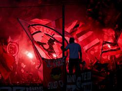 Fortuna-Fans haben Pyrotechnik gezündet (Archivbild)