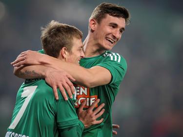 Matej Jelić konnte bei Rapid nicht allzu oft jubeln
