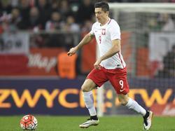 Robert Lewandowski will gegen Deutschland Tore schießen