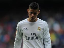 James Rodríguez scheint in Madrid keine Zukunft zu haben