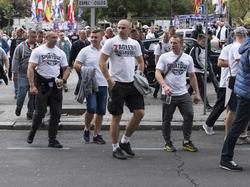 Die Legia-Fans sorgten in Madrid für Ärger
