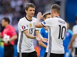 Lukas Podolski will der Nationalmannschaft als Fan erhalten bleiben. Foto:Marius Becker
