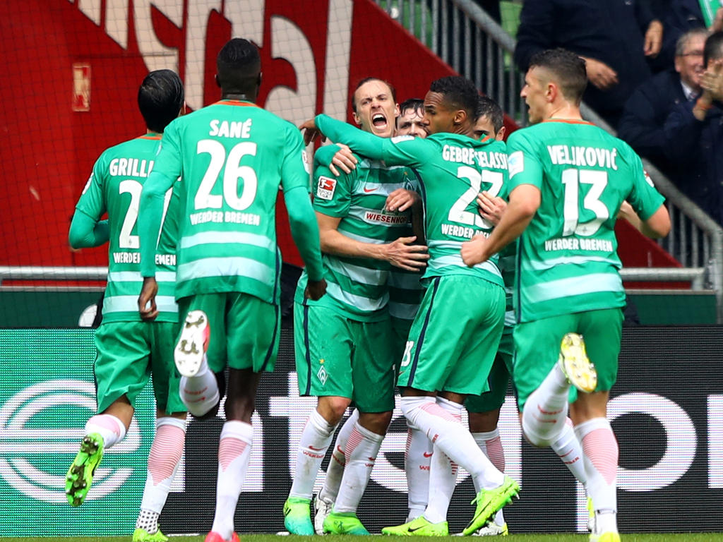 El Werder Bremen no cede. (Foto: Getty)