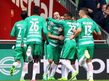 El Werder Bremen no cede. (Foto: Getty)