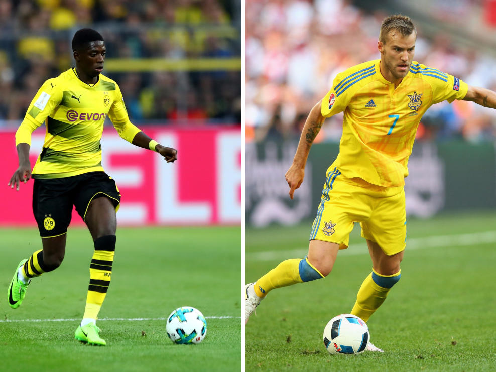 BVB: Top-Abgang: Ousmane Dembélé; Top-Zugang: Andriy Yarmolenko