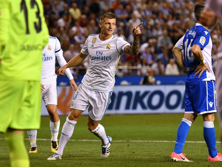 Toni Kroos traf für die Königlichen zum 3:0