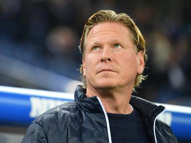 Markus Gisdol blickt optimistisch in das Spiel in Leverkusen
