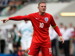 Wayne Rooney ist Kapitän der Three Lions