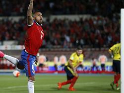 Arturo Vidal brachte Chile gegen Kolumbien in Führung
