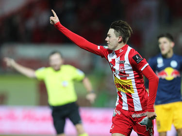 Florian Flecker war beim 1:0-Heimsieg der Kapfenberger der Schütze des Goldtors