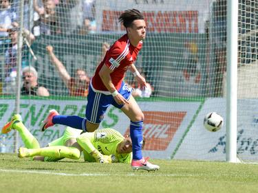 Thomas Steinherr traf für Unterhaching zum 3:0-Endstand