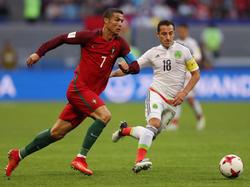 Trotz einer Ronaldo-Vorlage spielte Portugal nur Remis gegen Mexiko