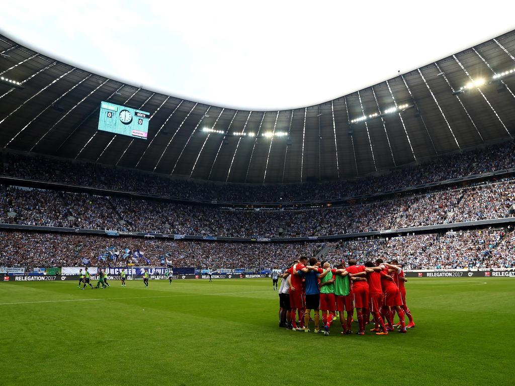 Die Allianz Arena wird modernisiert