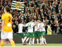 Die Grün-Weißen jubeln über das Comeback in der Allsvenskan