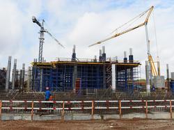Die Arbeiten am WM-Stadion von Samara geraten ins Stocken