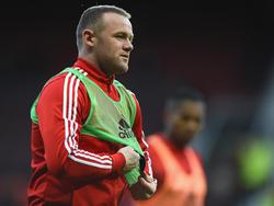 Wayne Rooney ist bei Manchester United glücklich