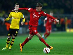 Bayern-Angreifer Müller lobte den BVB in den höchsten Tönen