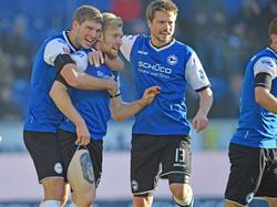 Bielefelder Jubel nach dem wichtigen Heimsieg gegen den VfL Bochum