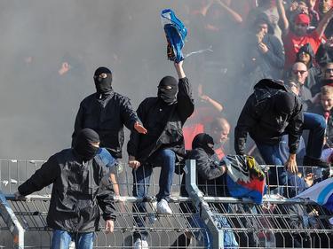 Die Ultras des 1. FC Nürnberg sorgten für Ärger
