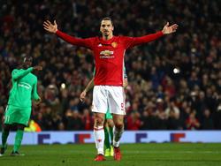 Zlatan Ibrahimović steht vor der Rückkehr zu Manchester United
