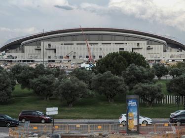 Finalización de las obras del Wanda Metropolitano. (Foto: Imago)