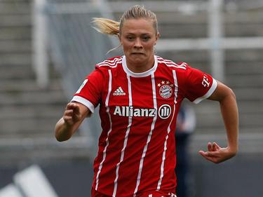 Fridolina Rolfö traf für die Bayern