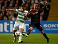 Ajax muss nach dem Champions-League-Spiel in Glasgow mit einer Strafe rechnen