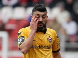 Der Treffer von Aias Aosman reichte Dynamo nicht