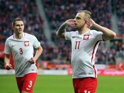 Doppeltorschütze Kamil Grosicki fegt mit Polen Finnland vom Platz