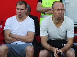 Holger Badstuber (l.) bangt um seine Karriere beim FCB