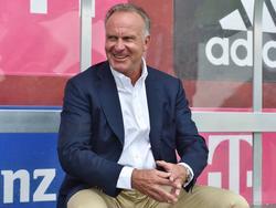 Karl-Heinz Rummenigge stärkt Franck Ribéry den Rücken