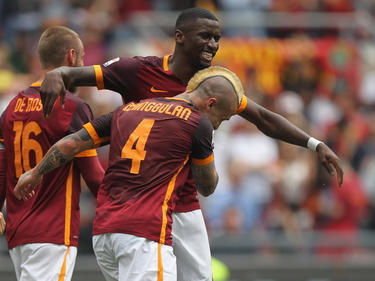 La Roma vuelve a la senda del triunfo lejos de su estadio. (Foto: Getty)