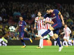 Lionel Messi schießt sich von Rekord zu Rekord