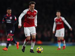 Mesut Özil brilliert im Mittelfeld der Gunners