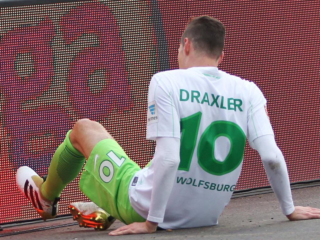 Julian Draxlers Einsatz im Pokal steht auf der Kippe